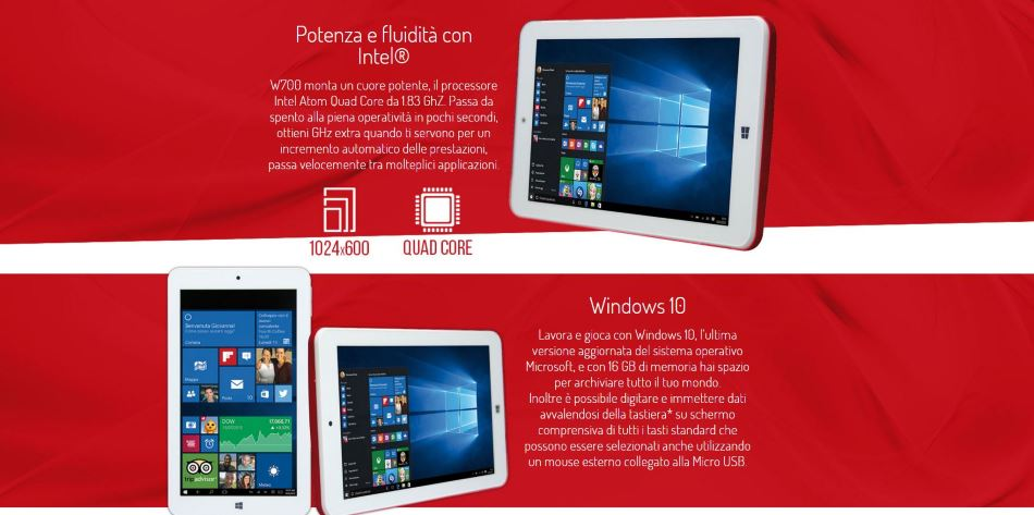 Windows 10 in 7 pollici a 59.00 Euro???