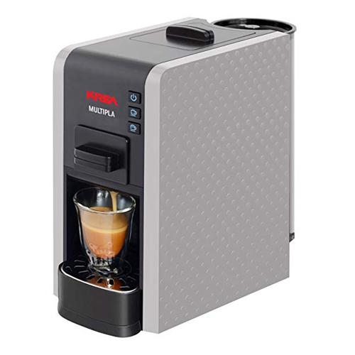 KREA Macchina per caffè espresso silver