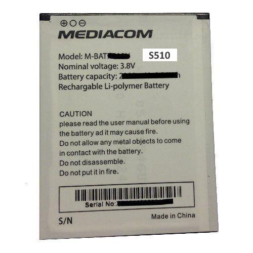Batteria Mediacom S510
