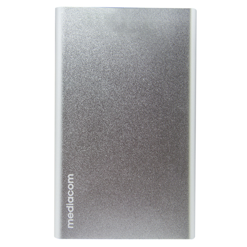 SOS Power Bank 10000 argento