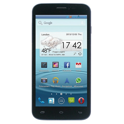 Mediacom PhonePad Duo G500 Rubber Black