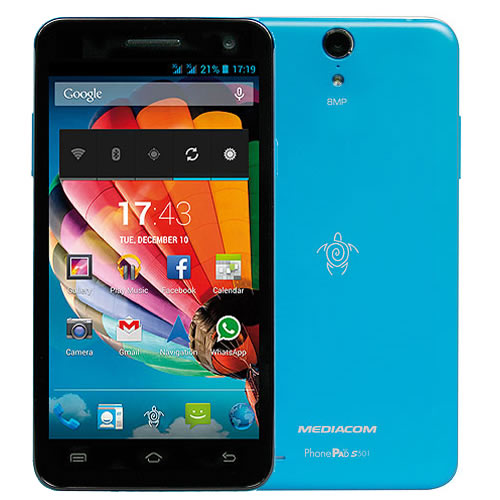 PhonePad Duo S501 Azzurro