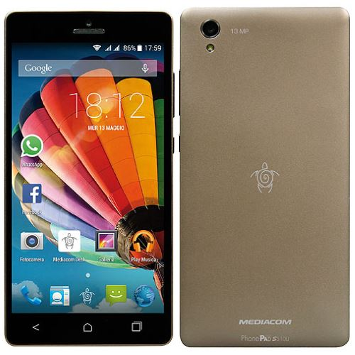 PhonePad Duo S510U Gold