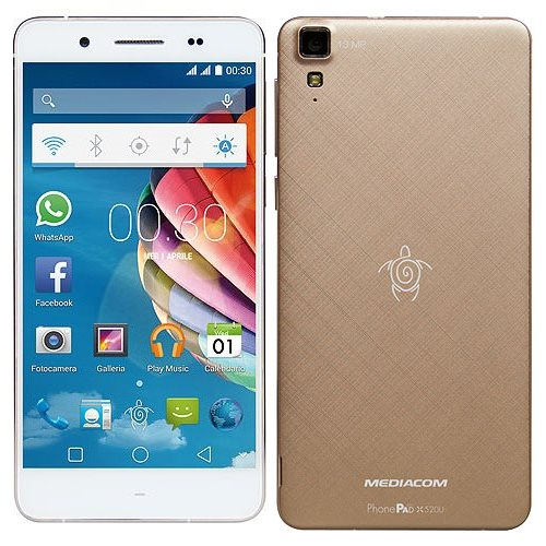 PhonePad Duo X520U Gold
