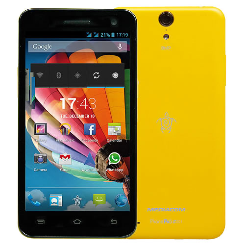 PhonePad Duo S501 Giallo