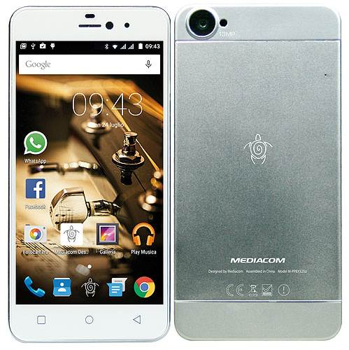 Mediacom PhonePad X525U Silver