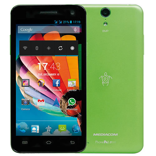PhonePad Duo S501 Verde
