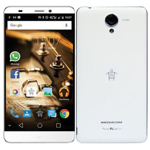 Mediacom PhonePad S552U Bianco