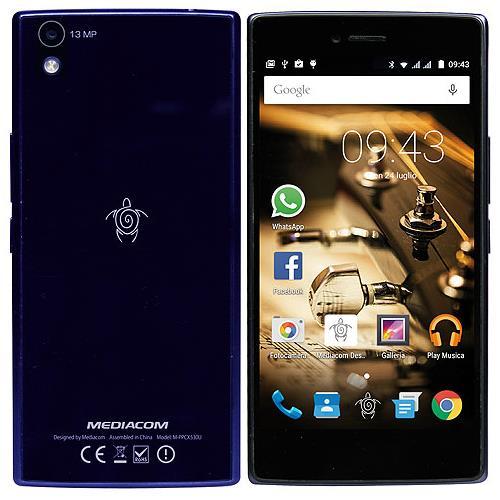 Mediacom PhonePad X530U Blu