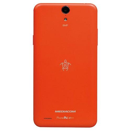Cover Back S501 Arancione