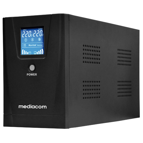 1000VA UPS PC security solution with display
