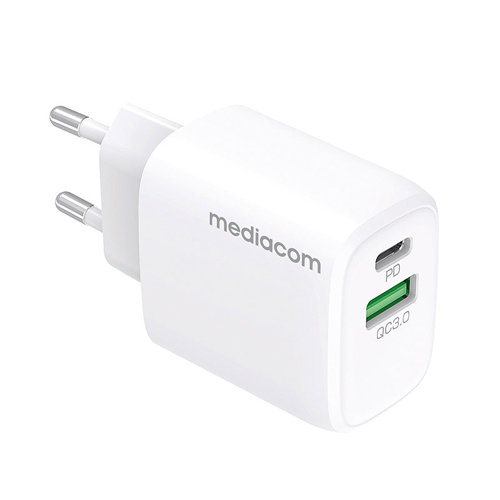 Wall USB + 1 Type-C charger