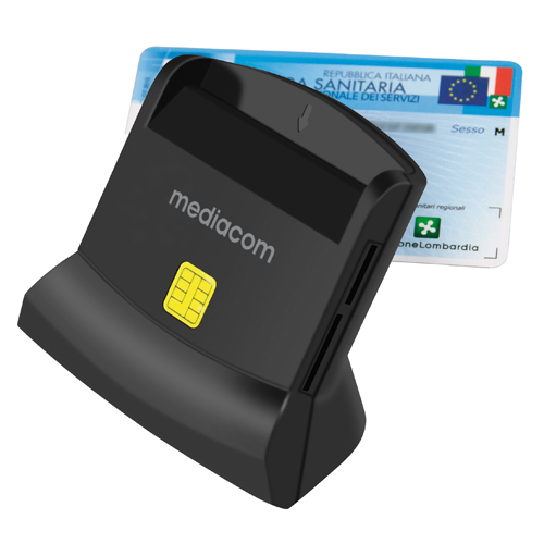 USB 2.0 Lettore Smart Card High Speed