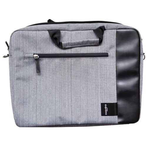 IndiGo Computer Bag Firenze Grigio/Nera 15.6