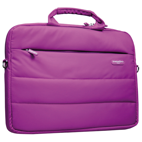 IndiGo Computer Bag Torino purple 13.3