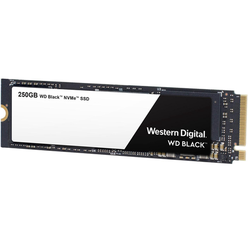 WD Black NVMe SSD 250 GB M.2 2280
