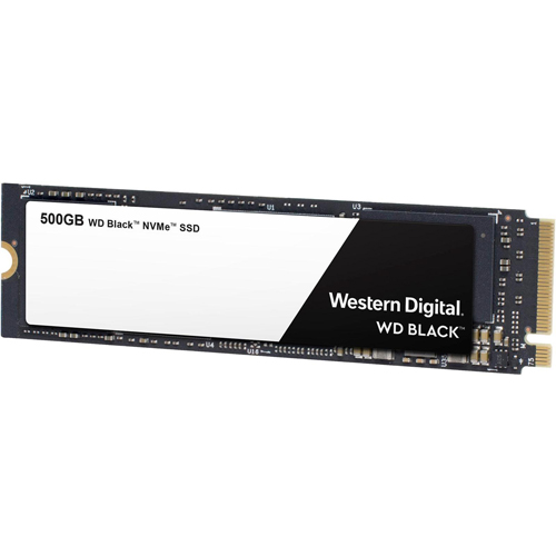 WD Black NVMe SSD 500 GB M.2 2280