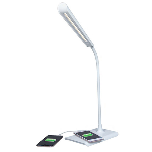 Lampada LED USB con wireless charger