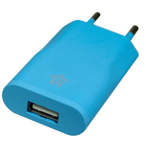 USB Home Charger azzurro